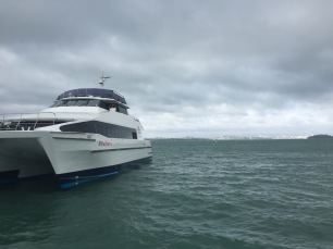 Rangitoto Ferry (Auckland in the background)